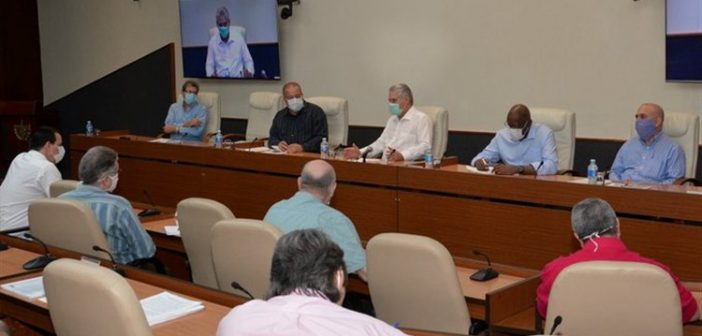 Cuban Government Intensifies Action against Pandemic