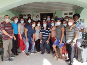 A salvo colaboradores en San Vicente y las Granadinas