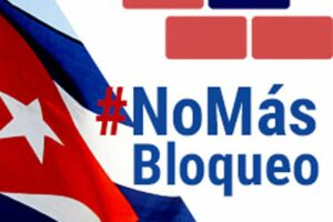 Solidarity orgs ask from Europe to end the US blockade on Cuba
