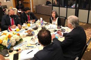 Cuba presente en reunión de cancilleres de Conferencia Iberoamericana