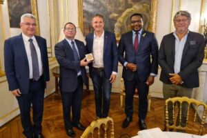 French National Assembly decorates ICAP president