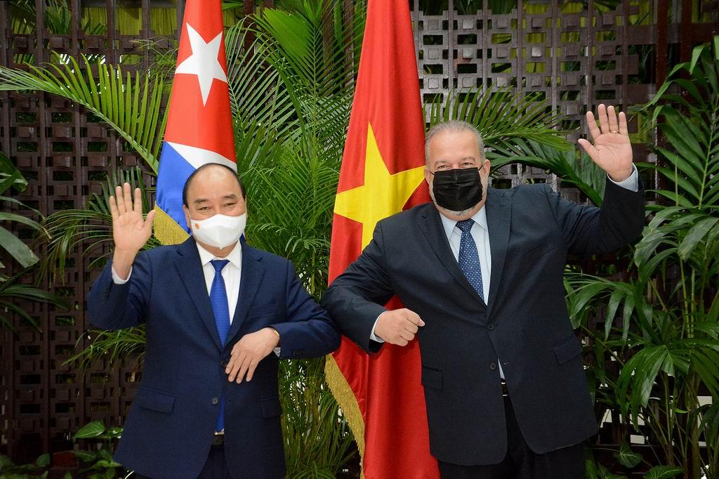 Sostiene Primer Ministro Manuel Marrero Cruz encuentro con el Presidente de Vietnam, Nguyen Xuan Phuc